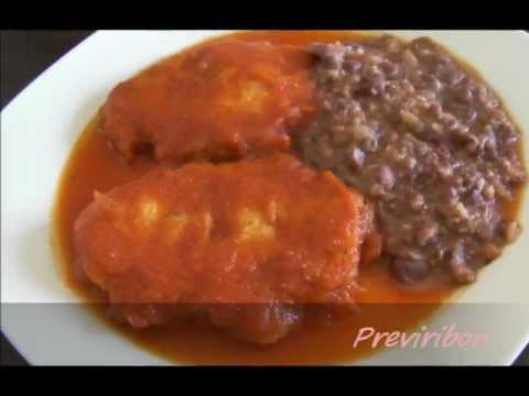 Tortitas de Pollo con Chile Morita * video 108 *