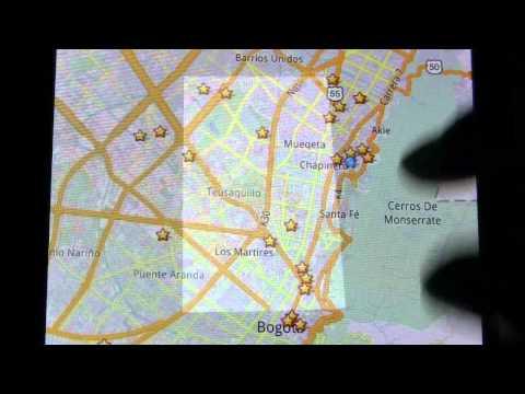 Como Utilizar Google Maps Sin Internet - Offline Tablet Lenovo A1