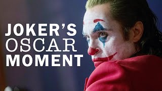This Is What An Oscar Winning Joker Scene Looks Like