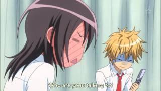 Kaicho wa Maid-sama! funny scene