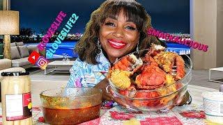11 Fried Lobster Tails Mukbang