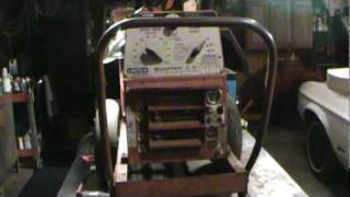 lincoln gas powered welder getting repaired part 1