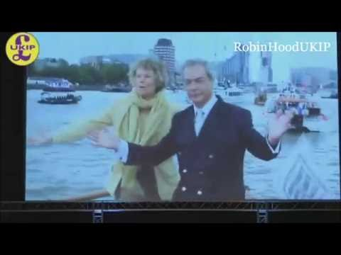 Nigel Farage Peterborough Brexit speech