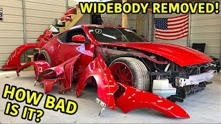 Auction Drift Car Gets Ripped Apart!!!