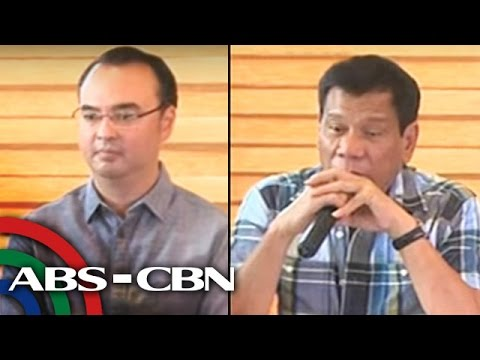 Duterte names some Cabinet members