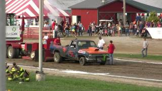 CHEVY TRUCK PULL WOOD HAULER EXPRESS 2 WHEEL DRIVE HENRY COUNTY FAIR