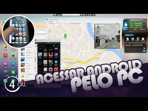 Controlar remotamente celular pelo computador (Android)