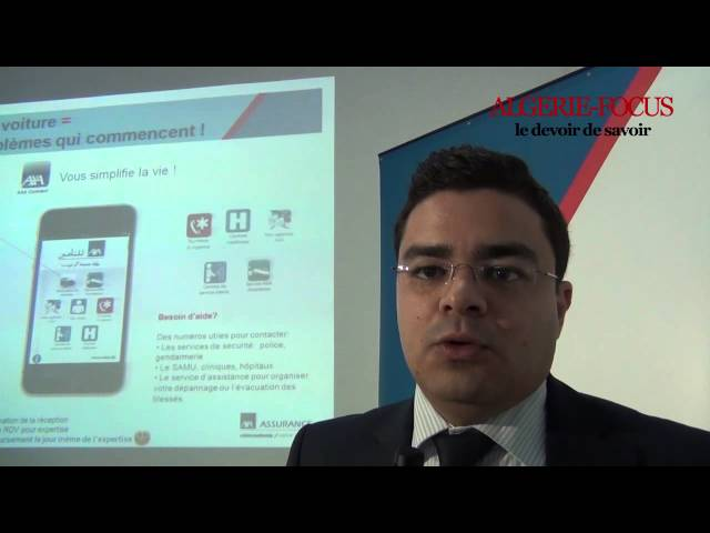 Innovation technologique au service du client par AXA Assurance Algrie