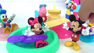 MINNIE MOUSE with Home Sweet Headquarters HQ &  Deluxe Baking Set Playset