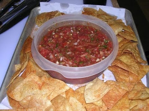 Homemade Tortilla Chips And Salsa video