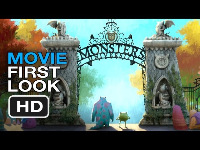 Monsters University Concept Art – Movie First Look (2013) Pixar Movie HD