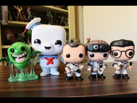 Ghostbusters Funko Pop review: Peter Venkman, Ray Stanz, Egon Spengler, Slimer and Stay Puft