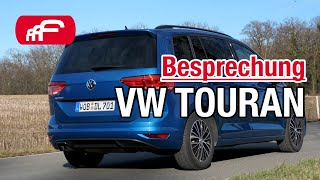 VW Touran 2.0 TDI - Besprechung/Review 2019