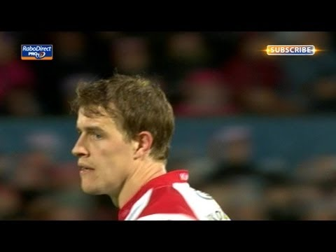 Andrew Trimble awarded try from touchdown - Ulster vs Cardiff Blues 3rd May 2013