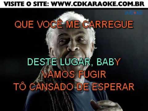 Gilberto Gil   Vamos Fugir
