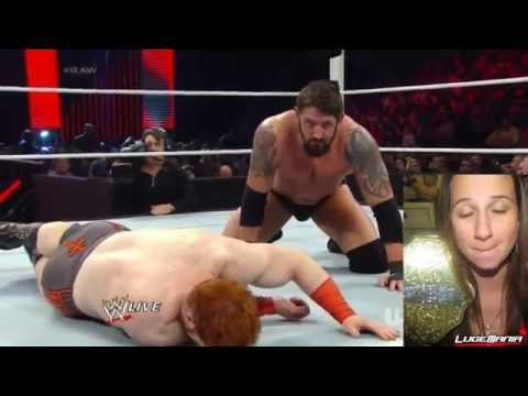 Wwe Raw April 21, 2014 Wade Barrett Vs Sheamus Live Commentary video