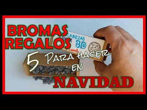 5 REGALOS DE BROMA - Bromas para hacer a tus AMIGOS y FAMILIARES en NAVIDAD!!!