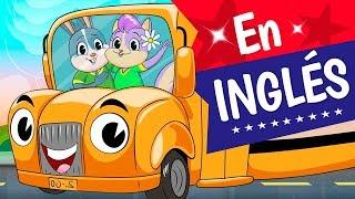 LAS RUEDAS DEL AUTOBUS, En Ingles, Canciones Infantiles, The Wheels On The Bus