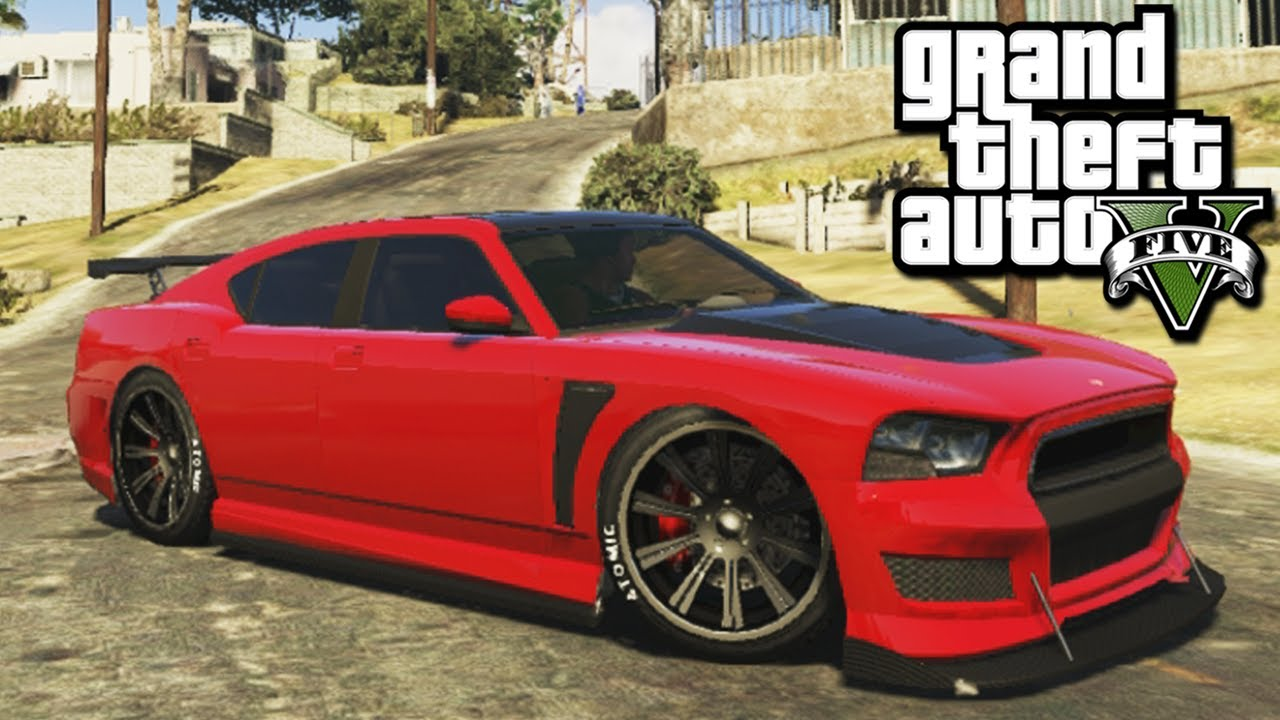 gta v dodge charger tunando youtube
