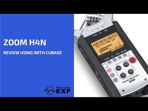 Zoom H4n Tutorial Review Using with Cubase