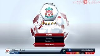 Fifa 13 | How to play with: Liverpool FC | Line-Up, Formation & more | PatrickHDxGaming