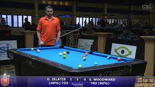 2017 US Bar Table Championships 8-Ball: Demi Jelatis vs Skyler Woodward