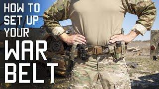 Practical Preparations: How to Set up Your War Belt - Duty Belt - SF Assaulter Gear (Video)