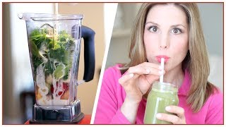 Get Fit With Kristen: Green Smoothie for Skin/Nails/Hair