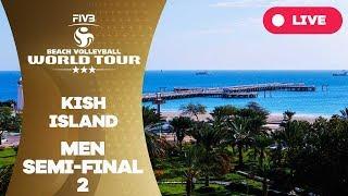 Kish Island 3-Star 2018 - Men semi-final 2 - Beach Volleyball World Tour