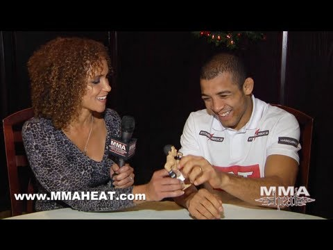 UFC Champ Jose Aldo Talks Frankie Edgar Bout, Henderson vs Edgar Decisions + Moving To Lightweight