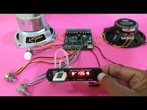 Amplifier using dual ic 4440 with USB & Bluetooth (part 2) thumbnail