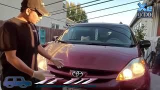 [Xe oto] Cách thay nhớt động cơ xe oto tại trước nhà.