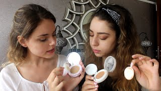 İlk İzlenim:Loreal Nude Magique Cushion vs Yves Rocher Cushion
