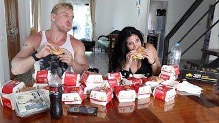 25 БИГМАКОВ ЗА РАЗ. CheatMeal Challenge. 25 Big-Mac. McDonald's.  FAIL.