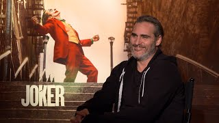 Why Joaquin Phoenix Wanted to GAIN Weight for 'Joker' | Full Interview