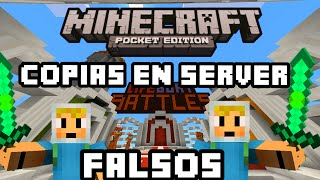 Minecraft pe 0.12.1 server BT cuentas falsas copias y mas
