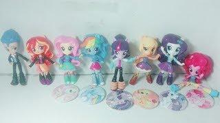 Giới Thiệu Đồ chơi Pony - Búp bê Pony Equestria Girls Minis ! Huy Hiệu Pony tại Artist Day