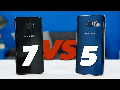 Note 7 Vs Note 5: Worthy Upgrade?