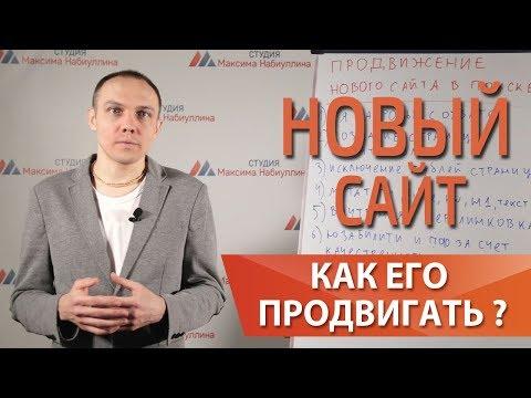 Продвижение и seo оптимизация нового молодого сайта в поиске— Максим Набиуллин