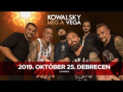 Kowalsky meg a Vega, Debrecen, Lovarda, 2019.10.25. (részlet)
