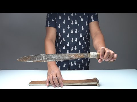 Rusty Machete Restoration