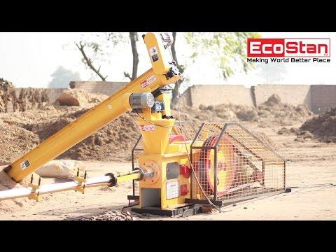 Briquette Machine, Briquetting Plant Manufactures, EcoStan® Prime 40 | Call Us @ +91-99140-33800
