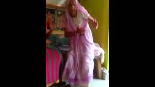 108 year's old lady dancing at datia (m.p.)