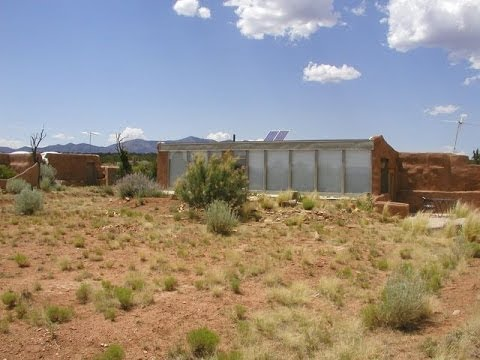 Sustainable Living, Earthship, Solar Heat, Photovoltaic Electric, Rain Water, Grey, Recycle