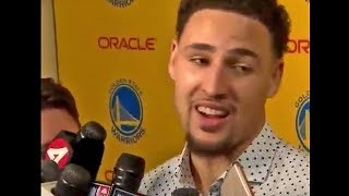 Klay Thompson Was Surprised To See Steph Curry Curse During A Game