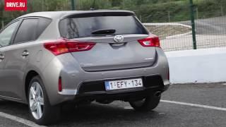 2012 Toyota Auris — За кадром