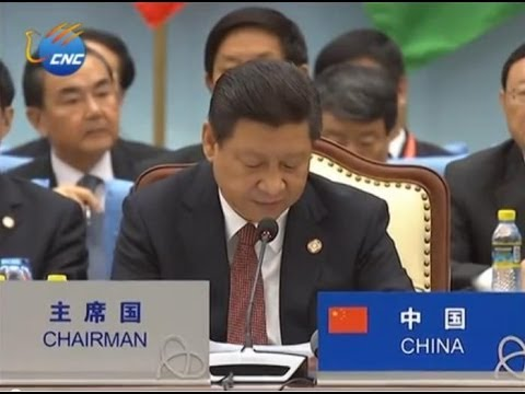 Chinese President Xi Jinping delivers key-note speech at CICA Summit