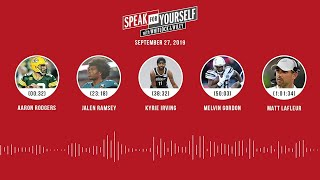SPEAK FOR YOURSELF Audio Podcast (9.27.19) with Marcellus Wiley, Jason Whitlock | SPEAK FOR YOURSELF