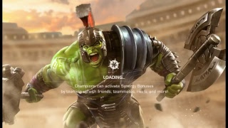 MARVEL CONTENT OF CHAMPIONS ONLINE GAME