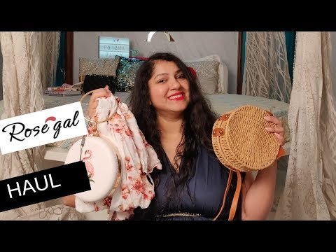 Fashion Haul | Rosegal Haul : Clothing & Bags, Bralette | Priyanka Boppana